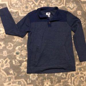 Boys long sleeve knit top